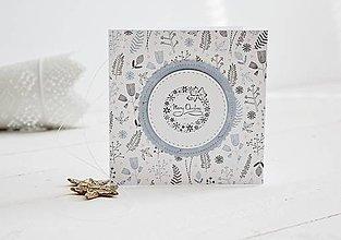 Papiernictvo - Vianočný pozdrav - zima III - 11147690_