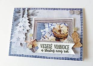 Papiernictvo - pohľadnica vianočná - 11144176_