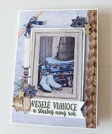 Papiernictvo - pohľadnica vianočná - 11144598_