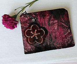 Taštičky - SAShEnka no. 214 - sametový kvet - 11146818_