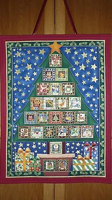 Dekorácie - Adventný kalendár STROMČEK V KVETINÁČI - 11147902_