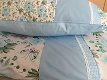 Úžitkový textil - Posteľné obliečky v modrom - 11145078_