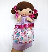 Hračky - Maňuška dievčatko - na objednávku - 11144385_