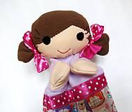 Hračky - Maňuška dievčatko - na objednávku - 11144387_
