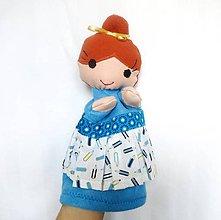 Hračky - Maňuška pani učiteľka v ceruzkovej sukienke - 11147281_