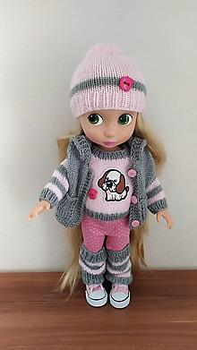 Hračky - Mila   oblečenie pre bábiku - 11147273_