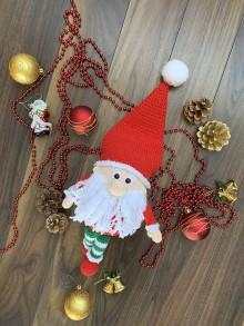 Hračky - vianočný škriatok Hohohóóó - 11144899_