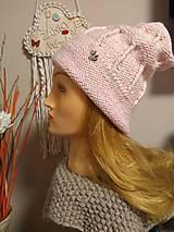 Čiapky - Dievčenská čiapka. - 11148077_