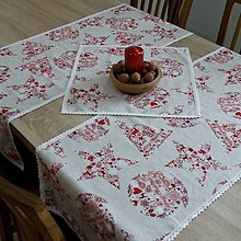 Úžitkový textil - Škandinávske Vianoce - šerpa naprieč stola 120x40 - 11144963_