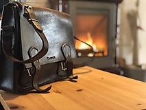Tašky - Pánska kožená taška - 11144584_