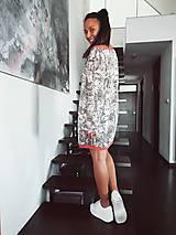 Šaty - Úpletové šaty - 11143980_