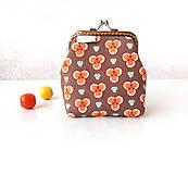 Peňaženky - Peňaženka Geometrické kvietky - M - 11146479_