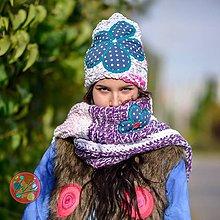Čiapky - Origo čispka kvet - 11145915_