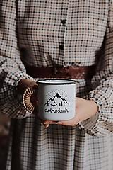 Nádoby - Smaltovaný hrnček - Dobrodruh - 11146459_