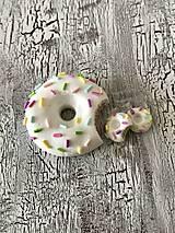 Sady šperkov - donutky s farebnym posypom - sada - 11144884_