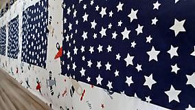 Úžitkový textil - Zástena za posteľ ... LIETADIELKA - 11149113_