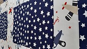 Úžitkový textil - Zástena za posteľ ... LIETADIELKA - 11149115_