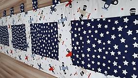 Úžitkový textil - Zástena za posteľ ... LIETADIELKA - 11149117_