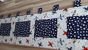 Úžitkový textil - Zástena za posteľ ... LIETADIELKA - 11149118_