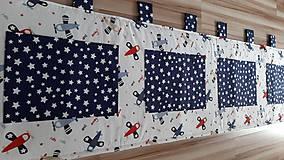 Úžitkový textil - Zástena za posteľ ... LIETADIELKA - 11149119_