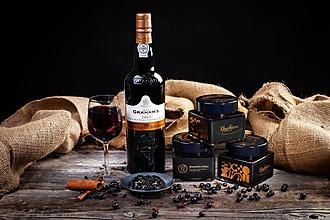 Potraviny - Medvedia túžba- Čučoriedkový džem s portským vínom - 11149944_