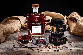 Potraviny - Baristova višňa- Višňový džem s výberovou kávou a Metaxou Private Reserve - 11149975_