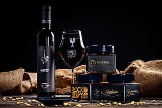 Potraviny - Ľadová kráska- Džem z čiernych ríbezlí, jazmínom a ľadovým vínom - 11150030_