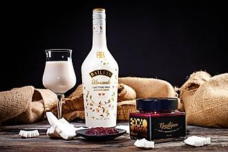 Potraviny - Vášnivá višňa- višňový džem s kokosom a Baileys Almande - 11150044_
