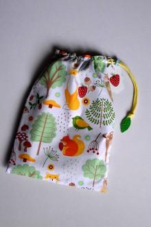 Detské tašky - Vrecko na skladačky - 11149467_