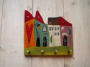 Nábytok - Domčekový vešiak - 11148556_