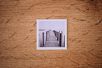 Papiernictvo - Fotonálepka - Mólo - na zápisník DENNÉ ZÁPISKY - 11151242_