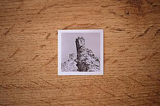 Papiernictvo - Fotonálepka - Devín - na zápisník DENNÉ ZÁPISKY - 11151284_