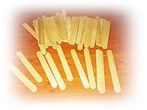 Iný materiál - Paličky z dreva - sada 61 ks - 11150038_