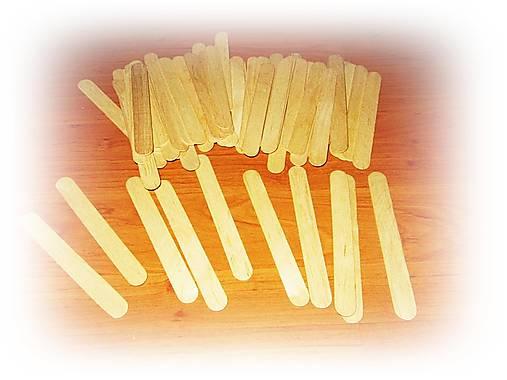 Paličky z dreva - sada 61 ks