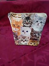 Taštičky - Taštička s motívom mačiatka - 11151852_