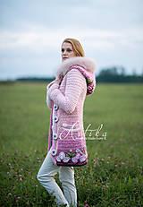 Kabáty - kabátik - Damask rose - 11151829_