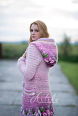 Kabáty - kabátik - Damask rose - 11151836_