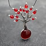 - Strom lásky - červený - 11151512_