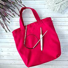 Iné tašky - Cyklámenová tvoritaška - 11151679_