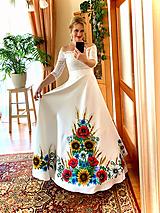 Sukne - Svadobná maľovaná... - 11149477_