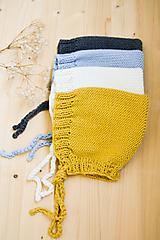 Detské čiapky - .MiNi detský čepček (50% merino, 50% bavlna) - 11148856_