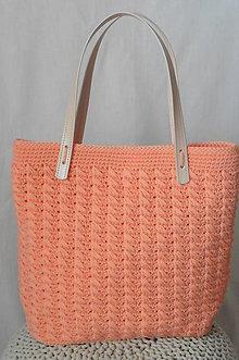 Kabelky - Handmade háčkovaná kabelka Anggelic - 11151605_
