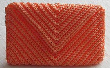Kabelky - Handmade háčkovaná kabelka listová - 11151646_