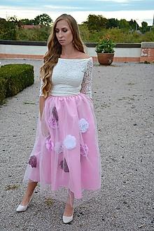 Sukne - kveTYLOVKA Rosa - 11150613_