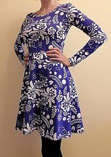 Šaty - Šaty s folk vzorom - 11152476_