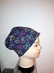 Detské čiapky - šmolko čiapka - 11151974_