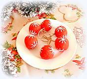 Dekorácie - Plstené vianočné gule - 11149293_