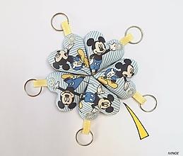 Detské doplnky - Prívesky pre detičky - myšiak Mickey - 11149644_