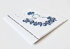 Papiernictvo - Deva V - folk vyšívaná pohľadnica - 11149427_