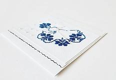 Papiernictvo - Deva VI - folk vyšívaná pohľadnica - 11149502_